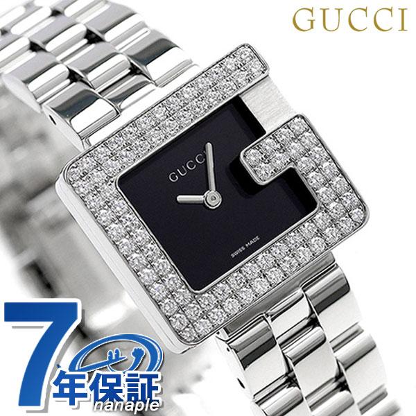 グッチ クオーツ スイス製 レディース 腕時計 YA0365110 GUCCI ブラック