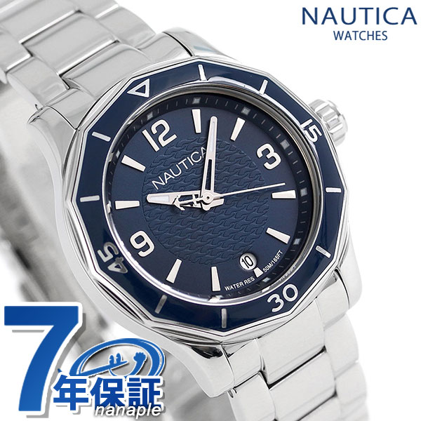 ノーティカ NWS01 クオーツ レディース 腕時計 NAD16532L NAUTICA ネイビー