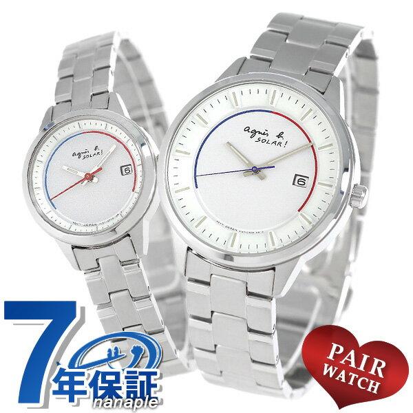 ペアウォッチ アニエスベー ソーラー 腕時計 agnes b.