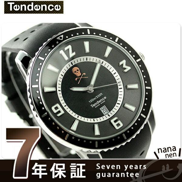 ce777643c2ae テンデンス スリム マーク&ロナ 限定モデル MLTG152003 TENDENCE 腕時計 オールブラック 時計 高い要求を持つ