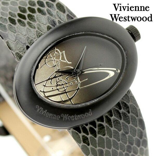 ヴィヴィアン・ウエストウッド 腕時計 エリプス Vivienne Westwood レディース ブラック VV014CHBK