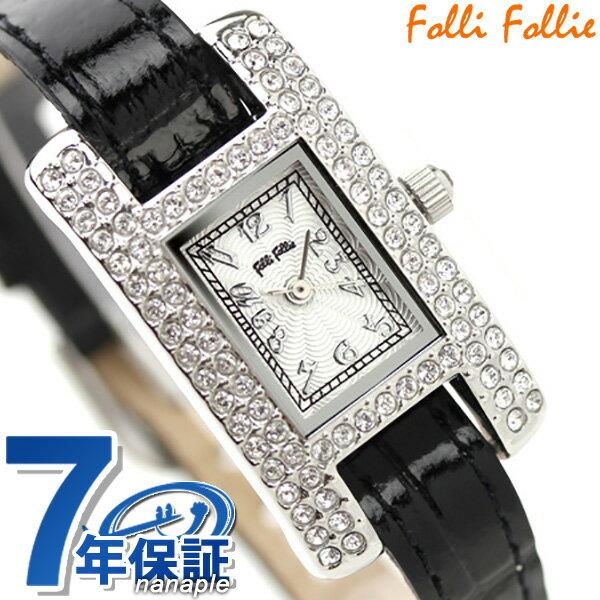フォリフォリ Folli Follie 腕時計 レディース ジルコニア シルバー WF5T082SPS