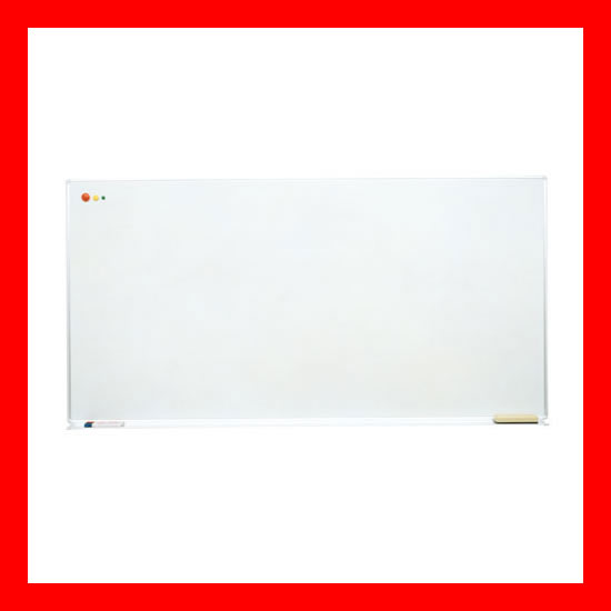 【 日学 】 壁掛ホワイトボード A-11A スチール 暗線入