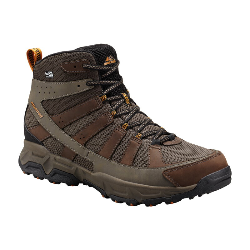 お呼ばれ montrail(モントレイル) FLUID ENDURO MID LEATHER OUTDRY Men's 12/30.0cm 231(Bright Copper) GM2174