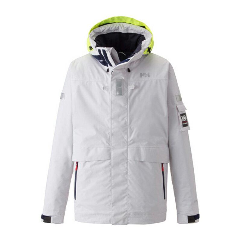 【送料無料】HELLY HANSEN(ヘリーハンセン) Ocean Frey Jacket Men's M W(ホワイト) HH11550【SMTB】