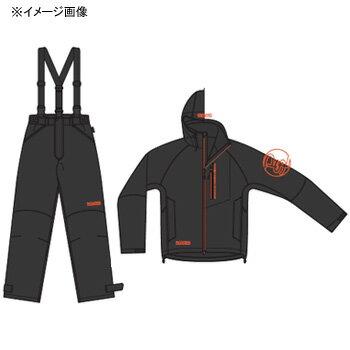 パズデザイン BSウォームレインスーツII M ブラックオレンジ SBR-035