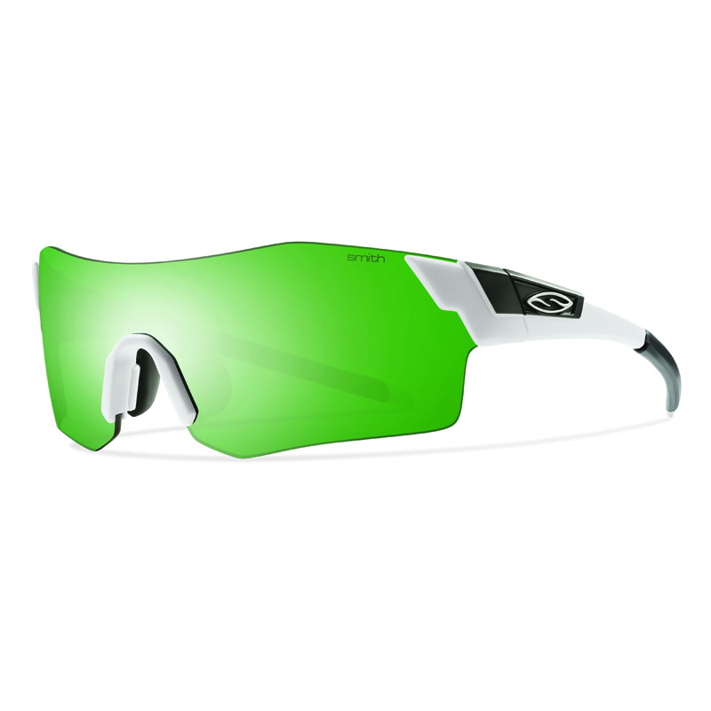 SMITH(スミスオプティックス) PIVLOCK ARENA MATTE WHT Green Sol-X.Ignitor.Clear 205000303