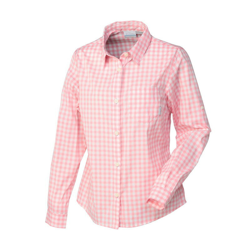 Columbia(コロンビア) FRINGE ELEMENTS WOMEN's LONG SLEEVE SHIRT L 685(ROSEWATER) PL7880