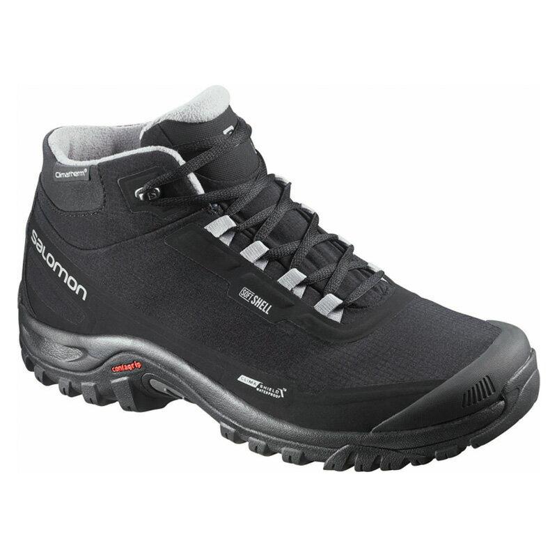 SALOMON(サロモン) FOOTWEAR SHELTER CS WP 27.0cm BLACK×BLACK×PTR L37281100