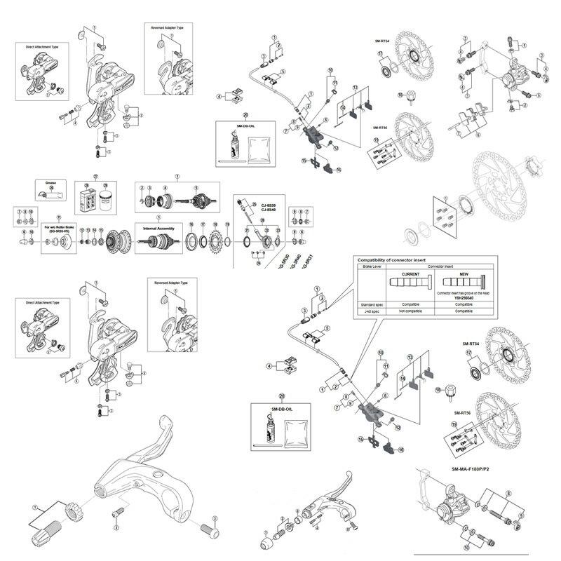 シマノ(SHIMANO/サイクル) EFC4703CX090 クランク 50/39/30T 170mm 10S 21947032