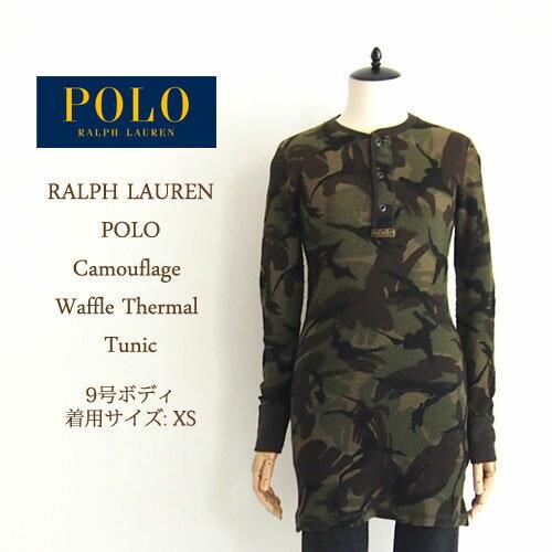 【SALE】【Polo by Ralph Lauren】ポロ ラルフローレン 迷彩 カモフラージュ サーマル ワンピース/CAMO【あす楽対応】