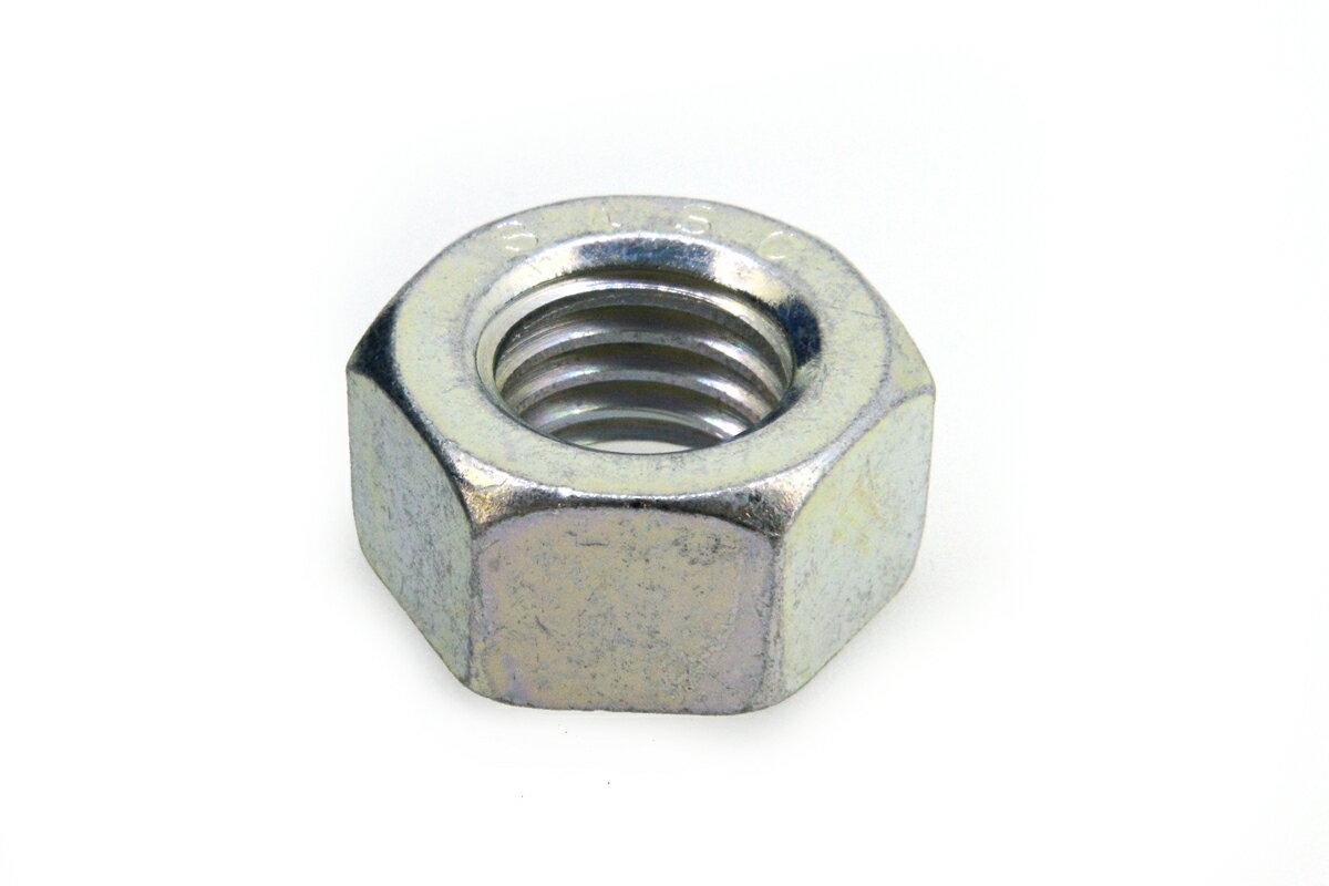 鉄(S45C)/三価ホワイト 六角ナット [1種]M4 【 小箱 : 1箱/2500個入り 】