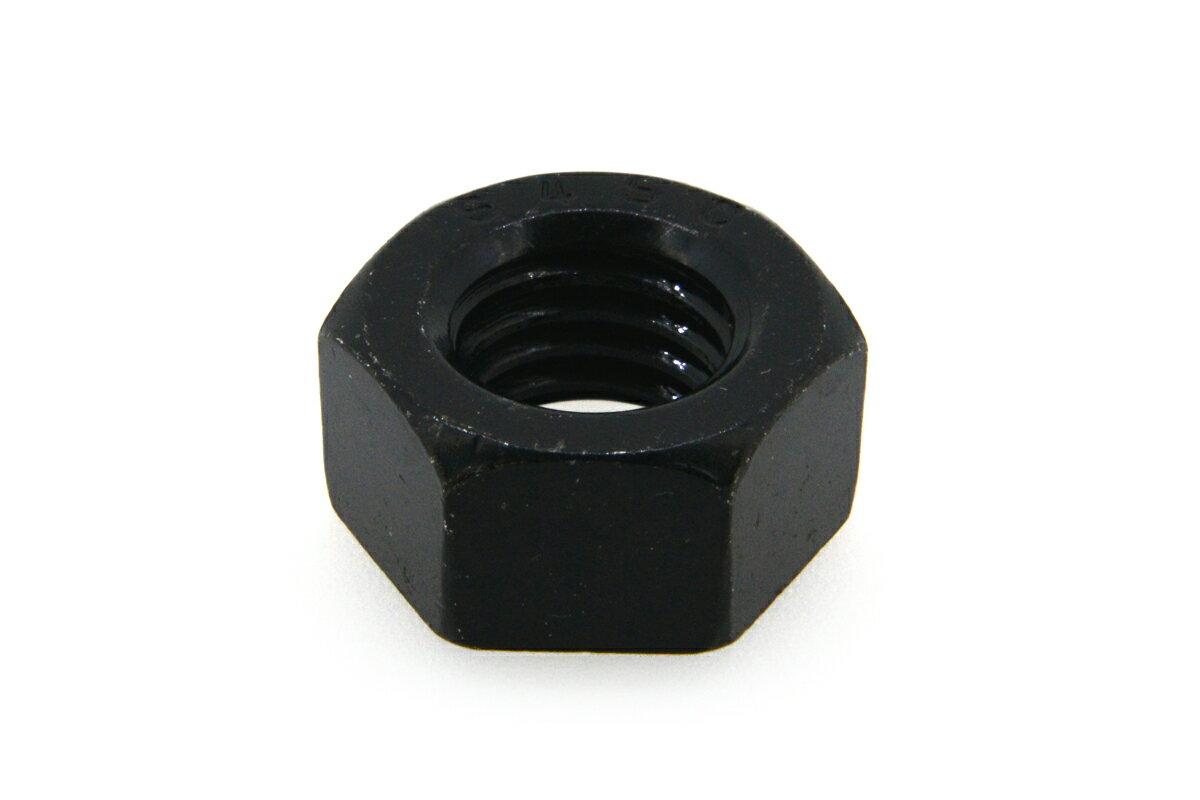 鉄(S45C)/三価ブラック 六角ナット [1種]M4 【 小箱 : 1箱/2500個入り 】