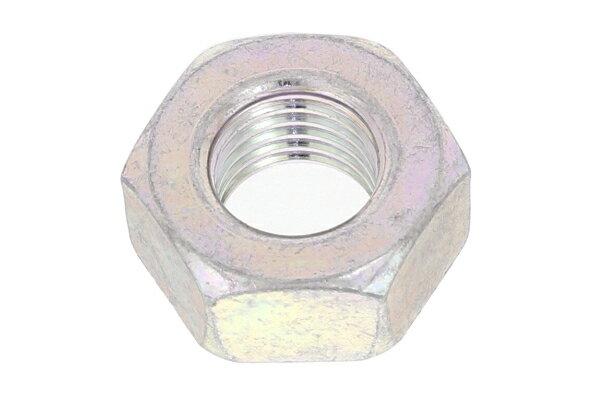 鉄/三価ホワイト 六角ナット [1種] (細目)M30 《ピッチ=3.0》 【 小箱 : 1箱/35個入り 】