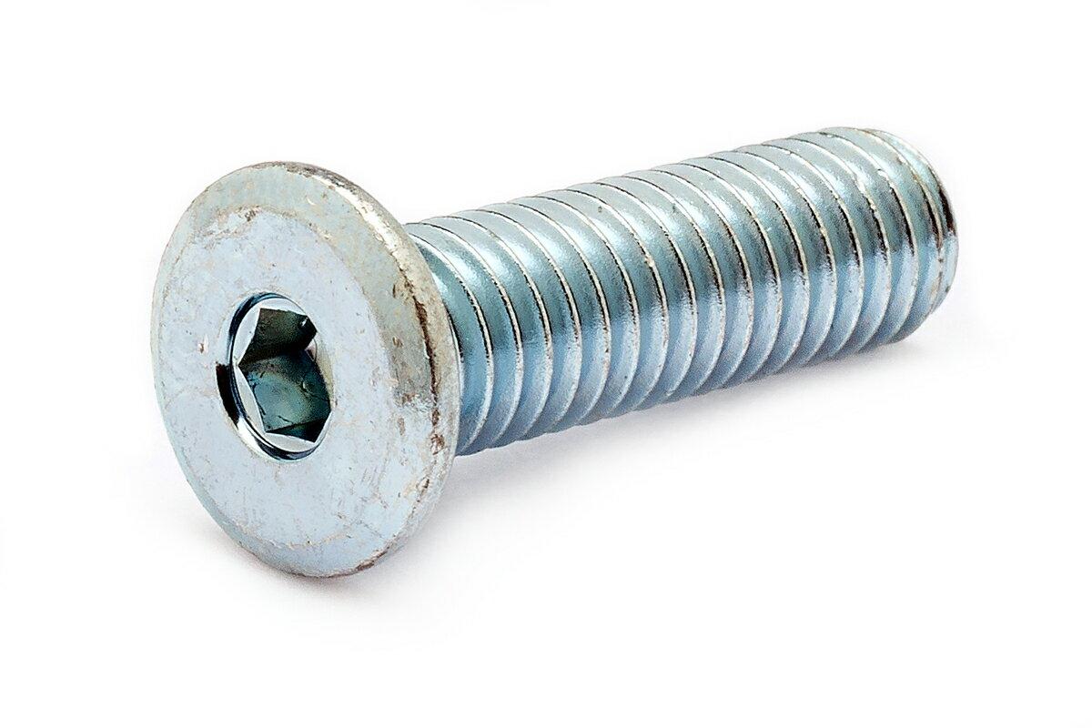 鉄(SCM435)/ユニクロ [極低頭] 極薄ローヘッド (全ねじ)M3×16 【 小箱 : 1箱/1000本入り 】