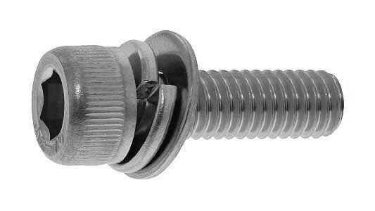鉄(SCM435)/黒色クロメート キャップセムス [P=3]M5×15 【 小箱 : 1箱/500本入り 】