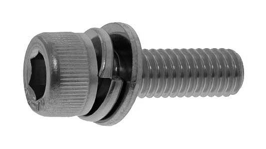 鉄(SCM435)/酸化鉄被膜 キャップセムス [I=3]M2×5 【 小箱 : 1箱/1000本入り 】