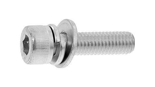 鉄(SCM435)/ユニクロ キャップセムス [I=3] SPタイプ 日産ねじ製M6×20 【 小箱 : 1箱/400本入り 】