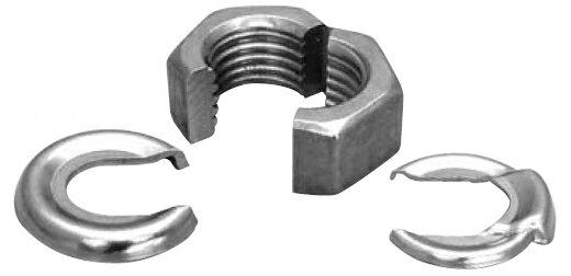鉄/クロメート スナップナット [ワッシャーセット]M12 【 小箱 : 1箱/20個入り 】