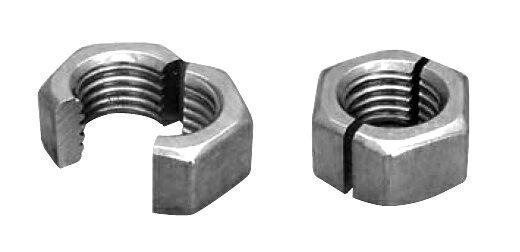 鉄/クロメート スナップナット (ウィット)W1/2 【 小箱 : 1箱/40個入り 】
