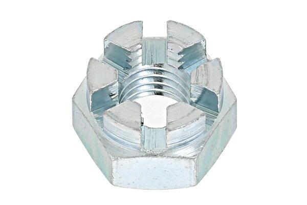鉄/ユニクロ 溝付ナット [2種・高形]M30 【 お得セット : 10個入り 】
