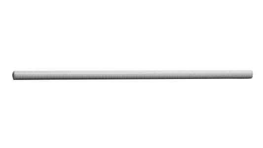 POM メーター寸切ボルトM10×1000 【 お得セット : 10本入り 】