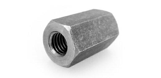 鉄/黒色クロメート 平径大 高ナット (ウィット)W1/2×70 【 小箱 : 1箱/35本入り 】