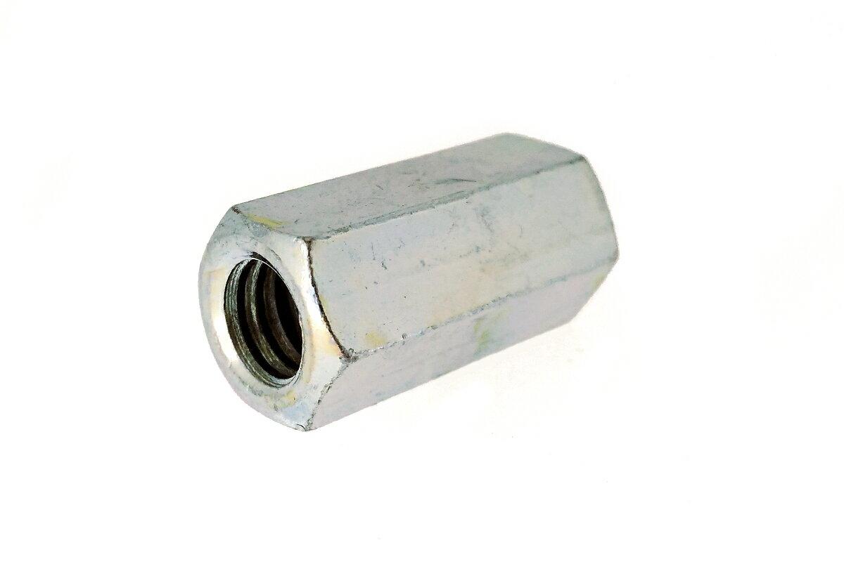 鉄/三価ホワイト 高ナット (ウィット)W3/4×60 【 小箱 : 1箱/50本入り 】