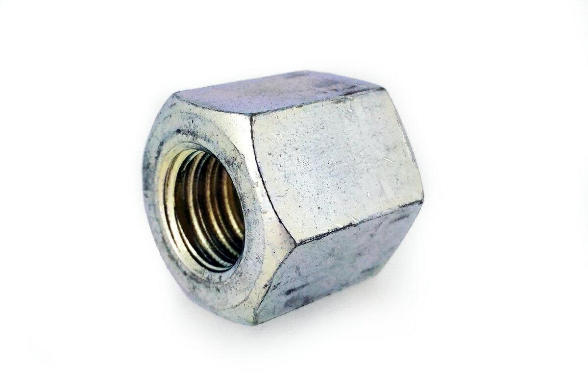 鉄/三価ホワイト 平径大 高ナット (ウィット)W1/2×80 【 小箱 : 1箱/25本入り 】