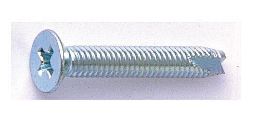 鉄/ノンクロブラック (+) サラタッピング [3種C1形] M6 × 75 【 小箱 : 1箱/200本入り 】