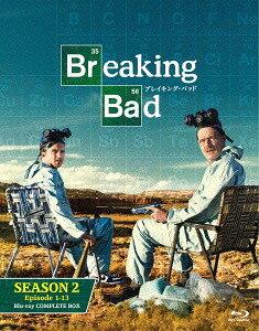 ブレイキング・バッド SEASON 2 COMPLETE BOX[Blu-ray] / TVドラマ