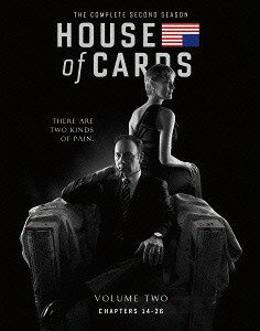 ハウス・オブ・カード 野望の階段 SEASON 2 Blu-ray Complete Package 〈デヴィッド・フィンチャー完全監修パッケージ仕様〉[Blu-ray] / TVドラマ