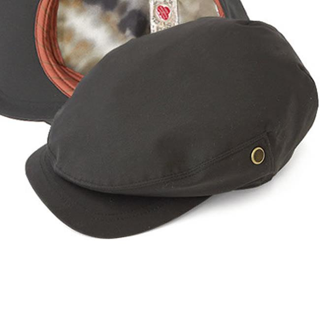 日本製 ハンチング メンズ ハンチング帽 綿100% ドライデン/ドッカータイプ ハンチング帽子(ブラック)57~59cm GARYU PLANET ガリュープラネット メンズ・紳士 男性用 男女兼用 帽子 ハット ぼうし