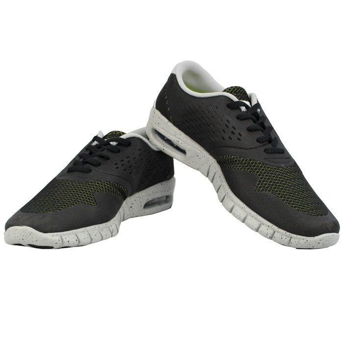 NIKE ERIC KOSTON 2 MAX 631047-013 BLACK/WHITE-BASE GREY-VNM GRN ナイキ エリックコストン スニーカー【S2】
