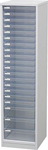 アイリスオーヤマ レターケース 木製 浅型17段+深型3段 MFE-1173 ホワイト / インテリア 収納 オフィス家具 オフィス収納 書類収納 レターケース