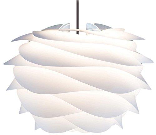 ヴィータ 北欧デンマーク ペンダントライト カルミナ ミニ 1灯タイプ セード:ホワイト/コード:ブラック 電球別売 02057-BK エルックス