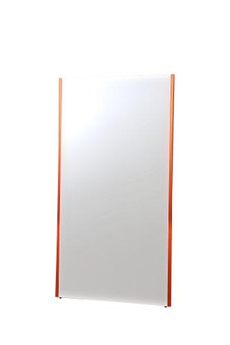 割れない軽量な鏡80×150cmレッド NRM-6/R