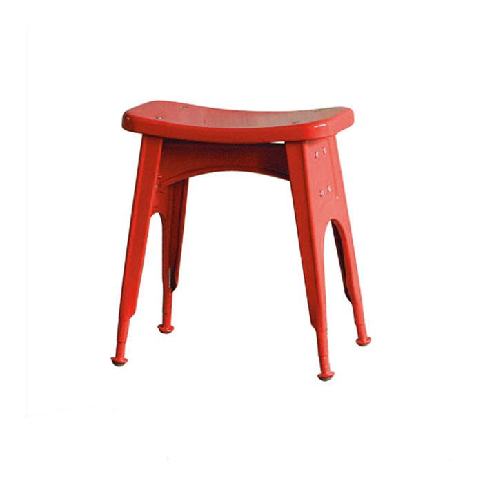� DULTON KITCHEN STOOL RED 112-281RD 】 スツール (背も�れ��) ス�ールスツール 金属 ��ゃれ ユニーク 個性的 イス 椅� ダルトン キッ�ン スツール レッド