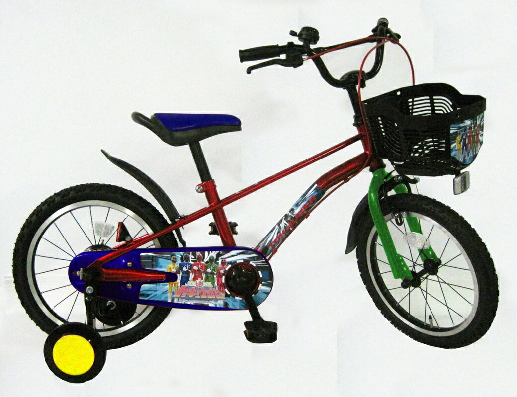 ◆YA-3303 16インチ(烈車戦隊トッキュージャー)◆16インチ 子供用自転車 【送料無料】 補助輪付子供用自転車ランキング 子ども用 ジュニアサイクル fs3gmKYAクリスマス