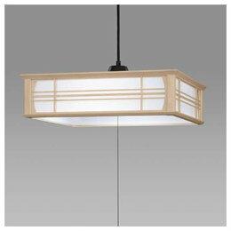 ☆日立 LED和風木枠ペンダントライト~8畳 LEP-CA800EJ