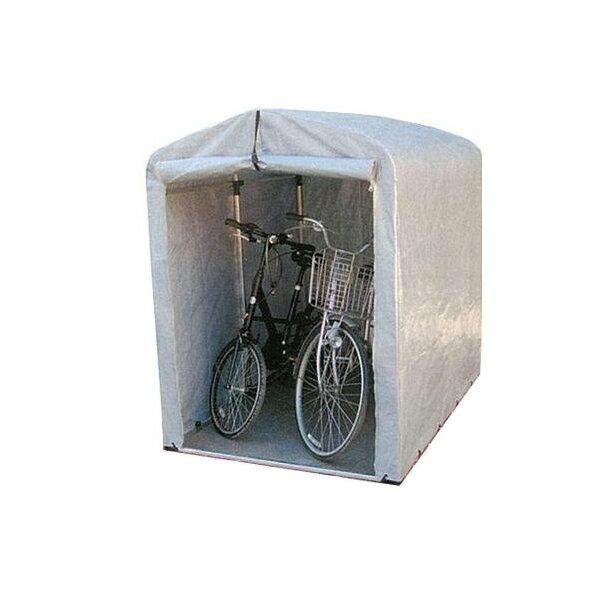 ●【送料無料】【代引不可】簡単組立! アルミフレーム サイクルハウス 標準シートタイプ/ミドルタイプ 2.5S-SV「他の商品と同梱不可」