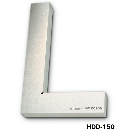 DD型焼入厚形スコヤ 75mm HDD-75【送料無料】