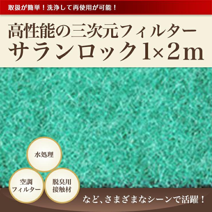 【CS-120】サランロック 70d-102 1×2m 厚み20mm 【空調フィルターに】高性能の三次元不織布【あす楽】