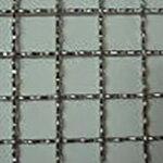 亜鉛引き クリンプ金網  線径(mm):2.6 網目(mm):25 幅(mm):1000×長さ(m):15 一巻