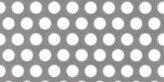 SUS304ステンレス パンチングメタル φ:4.0mm|板厚:1.5mm|幅:1000mm長さ:2000mm