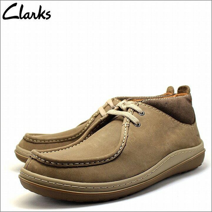 クラークス Clarks デザート チャッカ ブーツ ショート レザー 本革 ヌバック ライトブラウン メンズ cl26110266 あす楽対応【RCP】【はこぽす対応商品】【コンビニ受取対応商品】