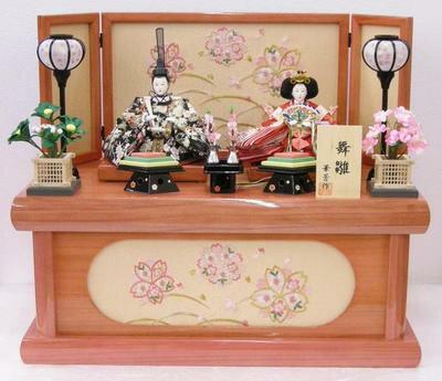 【雛人形 収納飾り】雛人形 収納台飾り【RCP】北海道(3000円)離島別途送料沖縄不可