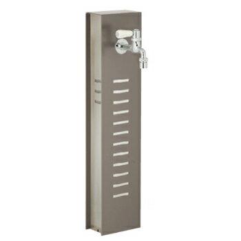 立水栓・水栓柱:水凛スタンド(茶鈍):立水栓[W-042]【あす楽対応不可】【全品送料無料】