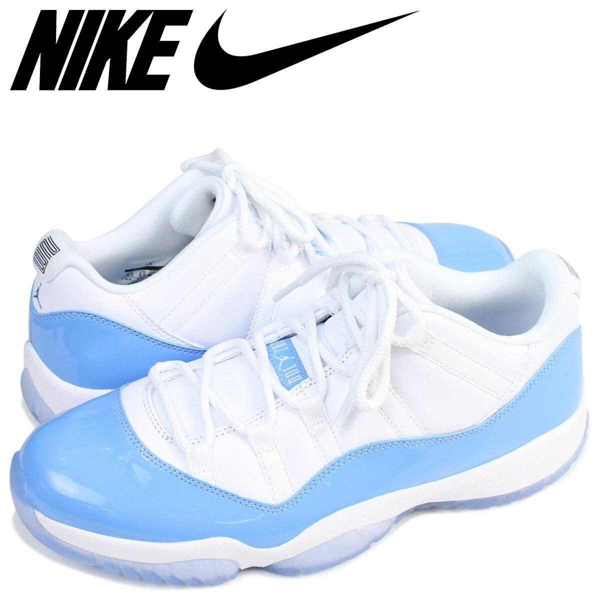 NIKE ナイキ エアジョーダン11 ロー スニーカー  AIR JORDAN 11 LOW UNIVERSITY BLUE  メンズ 528895-106 靴 ホワイト 【◆】