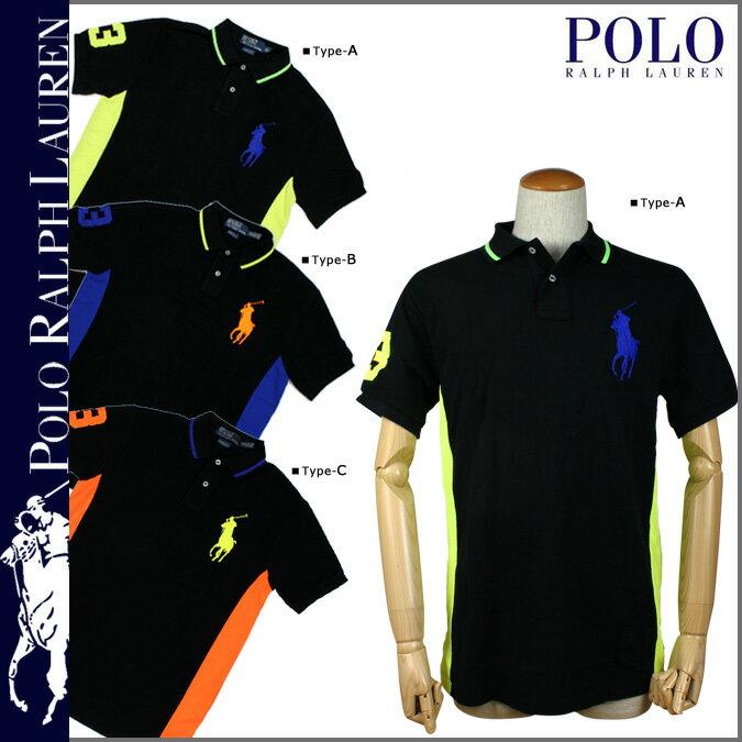 POLO RALPH LAUREN ポロ ラルフローレン ポロシャツ 3カラー 0465431 Custom Pieced Brights Big Pony コットン メンズ